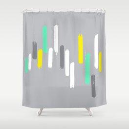 neon stumps Shower Curtain