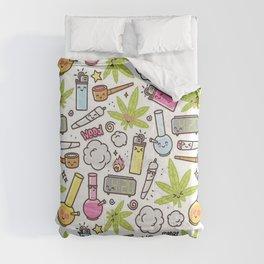Weed Mania Comforters