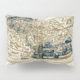 World Map 1482 Pillow Sham