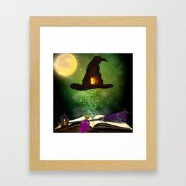 Magic Hat Framed Art Print