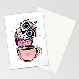 Baby Owl Stationery Cards