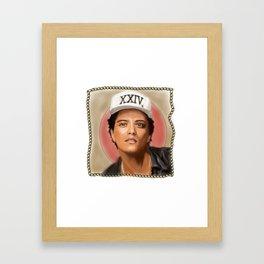 24 K magic Framed Art Print