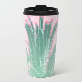 Palm Tree Leaves Tropical Vibes Design Travel Mug