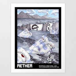 AETHER Art Print