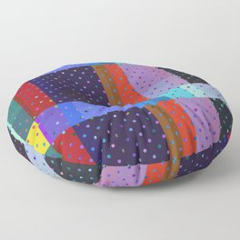 Elegant Distortion Art Floor Pillow