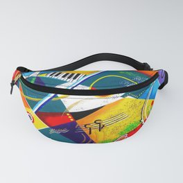 Performing Arts - Energy of Music Fanny Pack