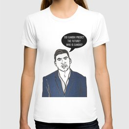 Who is Gandhi? T-shirt