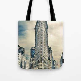 Flatron Building - New York City Tote Bag