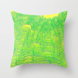 Blurred Lines Throw Pillow