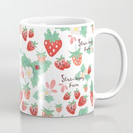 strawberry farm Coffee Mug