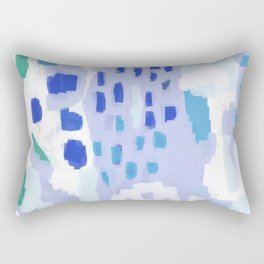 Otton - pastel dream dorm college abstract home decor modern art painting Rectangular Pillow