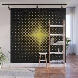 Art Deco Avant-garde Starburst Diamond Pattern Wall Mural