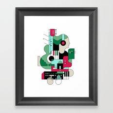 Sounds Framed Art Print