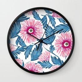 Gerbera Bloom Wall Clock