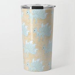 Kitsune Pattern Travel Mug