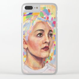 Logic Of Color Clear iPhone Case
