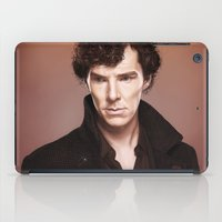 stephen king iPad Cases featuring King by tillieke
