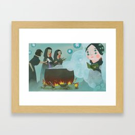 Coven Framed Art Print