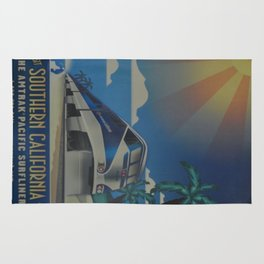 Vintage poster - Southern California Rug