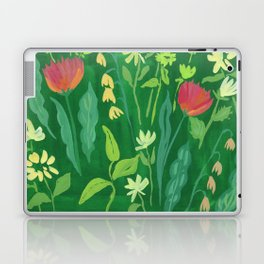 Sweet Flowers and Stems Laptop & iPad Skin