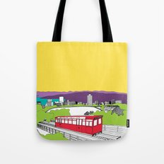 Wellington, New Zealand Tote Bag