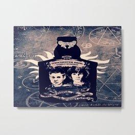 Supernatural In A Bottle Metal Print