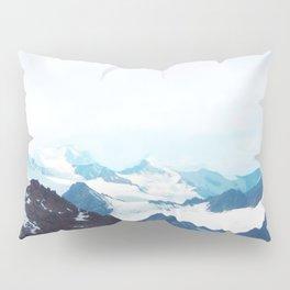 No limits - mountain print Pillow Sham