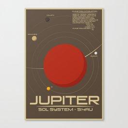 Sol: Jupiter Canvas Print