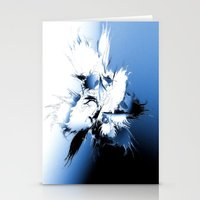 angel wings Stationery Cards featuring Angel Wings by Brian Raggatt