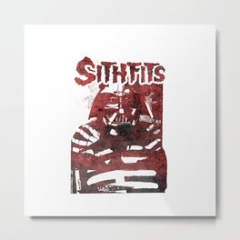Sithfits - Blood Fiend Metal Print