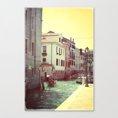 somewhere in Venice 2 Canvas Print