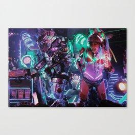 Robot Girl 2 Canvas Print