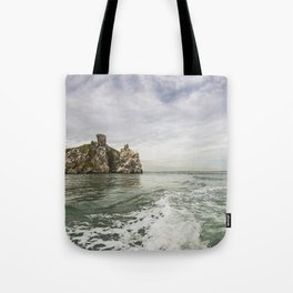 Irish cliffs in Howth Tote Bag