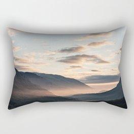 Park of Abruzzo at sunrise Rectangular Pillow