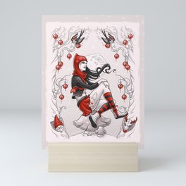 Red Winter Mini Art Print