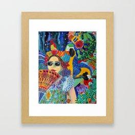A Guarded Heart Framed Art Print