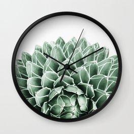 Succulent splendour Wall Clock