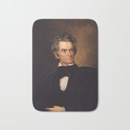 John C. Calhoun Bath Mat
