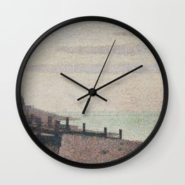 Evening, Honfleur Wall Clock