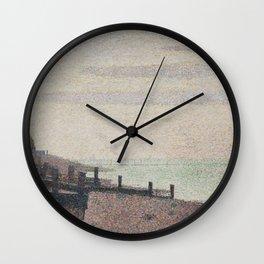 Evening, Honfleur Wall Clock