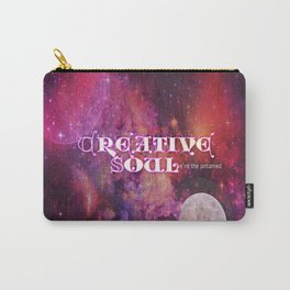 Creative Soul Moon Carry-All Pouch