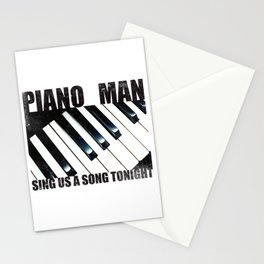 Piano Man Stationery Cards