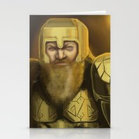 warcraft Stationery Cards featuring Scowl by Georgia Goddard
