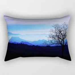 Horizons at sunset Rectangular Pillow