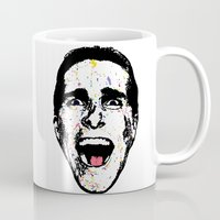 american psycho Mugs featuring American Psycho by CultureCloth