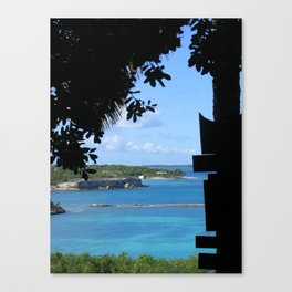 Untitled : Antigua Canvas Print