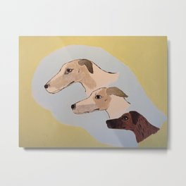 Sighthounds Metal Print