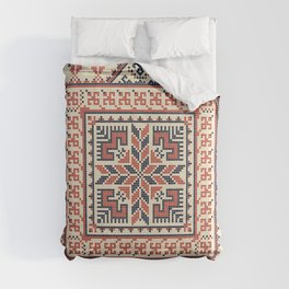 Palestinian embroidery pattern Comforters