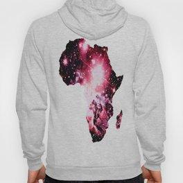 Nebula Galaxy Africa Pink Purple Hoody