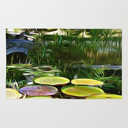 Greenery Pond Rug